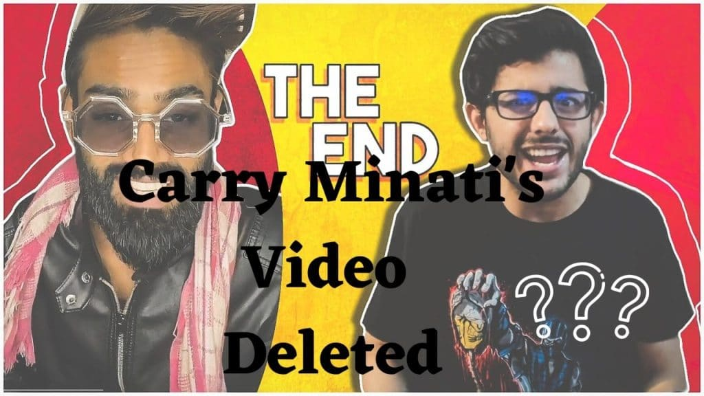 carry minati video deleted