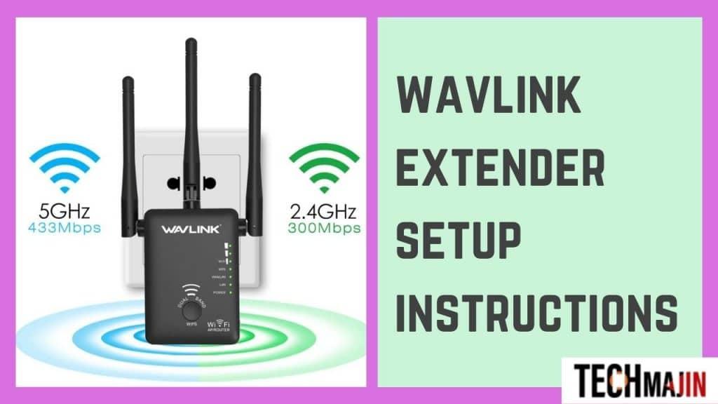 wavlink extender setup