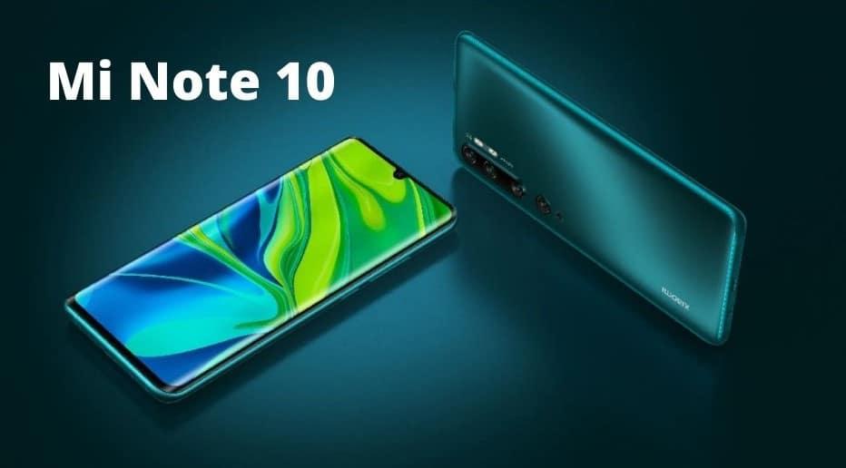 MI Note 10 WIFI Calling Android ,Google camera 108MP