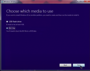choose media to use
